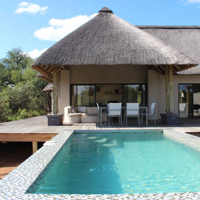Villa Blaaskans in South Africa