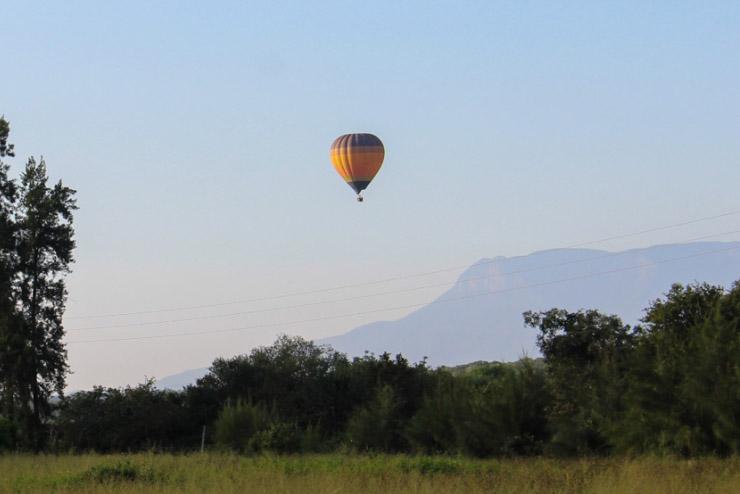 Ballonvaren Zuid-Afrika Blyde River Canyon