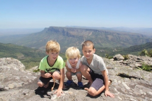 Blyde River Canyon met Kinderen
