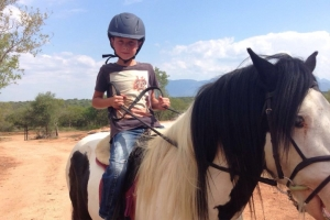 Paardrijden Kinderen in Zuid Afrika
