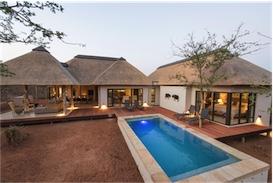 Villa Amanzi - vakantiehuis - Krugerpark - Zuid-Afrika