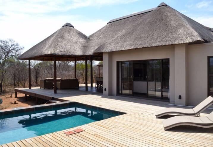 Villa-Mavalo vlakbij het Krugerpark