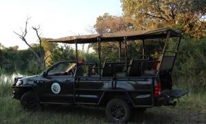 safari-truck in Zuid-Afrika