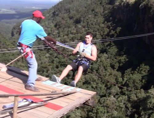 Een adrenalinekick in Graskop: De Big Swing