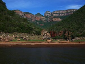 Three rondavels - Blyde River Canyon