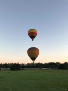 Luchtballon - Zuid-Afrika opstijgen